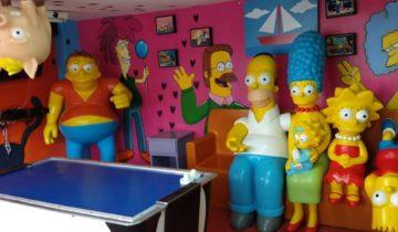 Salón infantil Monsters Kids